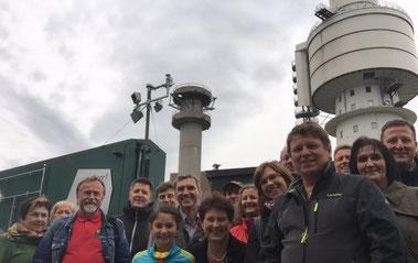 2015: Exkursion auf den Hohenbogen