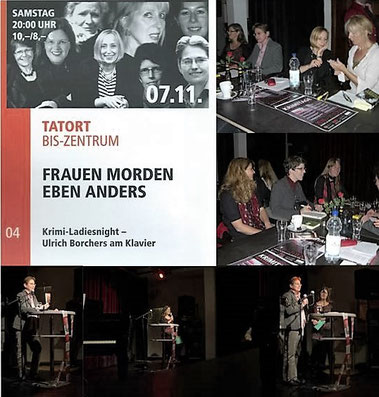 Lesung am 7.11.2015 im Rahmen der 11. Mönchengladbacher Krimitage