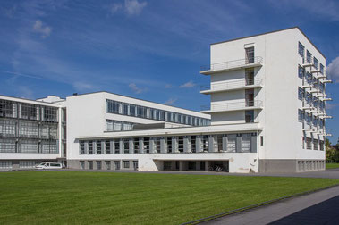 Bauhaus Dessau, Foto: H.Meyer