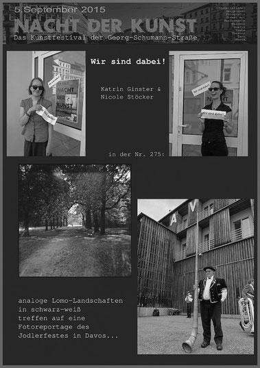 """Unser Plakat zur """"Nacht der Kunst"""""""