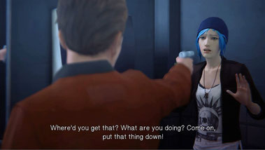 Chloe wird bedroht