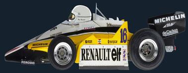 Rene Arnoux by Muneta & Cerracín