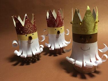 Loisirs créatifs, activités manuelles pour enfants, fête des rois, couronne, fève