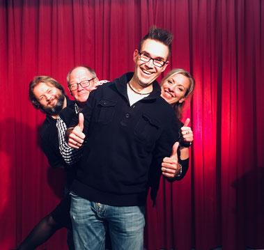 Besuch bei Stolina - Christian Knudsen, Zauberer in Hamburg