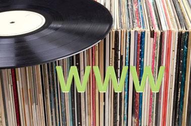 Im Internet findet man (fast) alles über Schallplatten