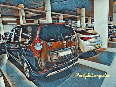parkplatz am flughafen düsseldorf