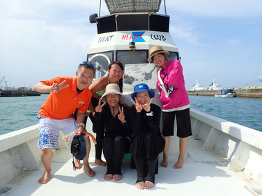 石垣島でのんびりシュノーケリング「マンタに遭遇」ヒートハートクラブ