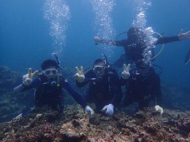 石垣島でのんびり体験ダイビング「リベンジ来島」ヒートハートクラブ