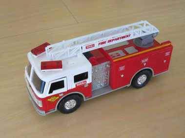 Vicky's fire engine