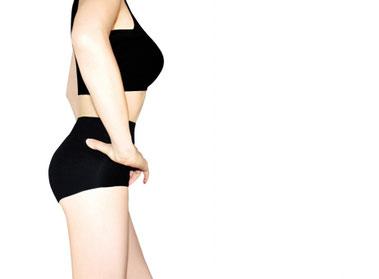 身体が引き締まった健康的な女性