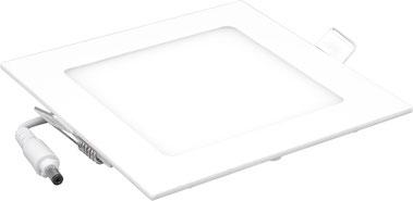 Bild: LED Panel quadratisch 18W dimmbar