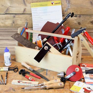 Das Werkzeugset der Werkkiste