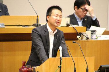 6月25日、6月定例県議会にて質問に立つ