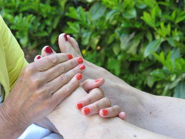 Ontspannen voeten!