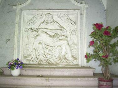2004 - Pieta mit acht Farbschichten, die vorsichtig abgetragen werden mussten - Foto: HPD