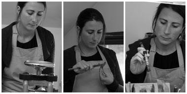 créatrice de bijoux belge, atelier de bijouterie artisanale