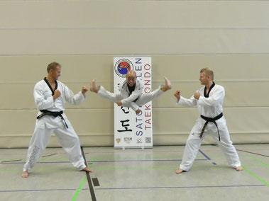 von links nach rechts: Jörg Krieter, Ky-Tu Dan, Robin Dekker  (Bild: Ralf Day)