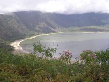der Empakai-Krater in der Ngorongoro Conservation Area