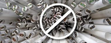 Verkaufsverbot von Leuchtstoffröhren in der EU