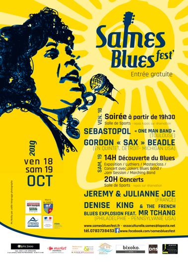Sames Blues Fest' 2019