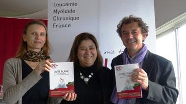 fx francois xavier mahon leucemie myeloide chronique lmc france livre blanc fi lmc aude charbonnier hématologue
