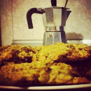 Yummy ayurvedic Chocolate-Curry-Muesli Cookies recipe