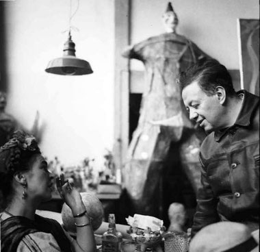 Frida e Diego Rivera