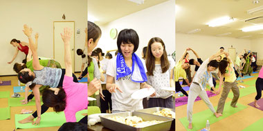 ヨガ カレー 2周年記念イベントパーティー