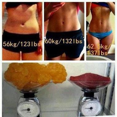 Muscle versus fat