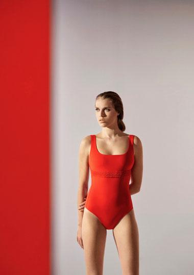 Iodus maillot de bain orange ete 2021 lugdivine Marseille