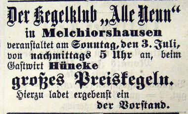 Syker Zeitung 02.07.1904