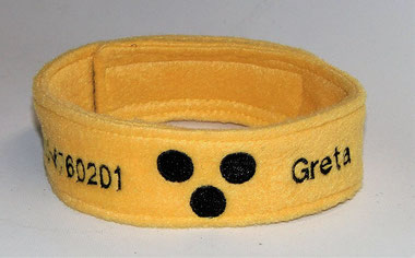 Halsband, Loop, Blinder Hund, Blindenhund, Halstuch, Blindenhalstuch