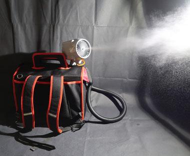 ポータブル 除菌装置 加湿装置