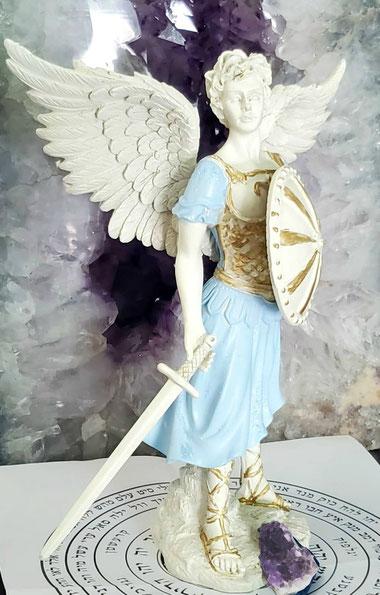 Figura del arcangel Miguel, venta de angeles en USA