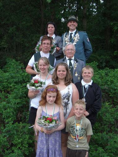 ~~~~~   Die Majestäten des Schützenfestes 2011 beim Schützenverein e.V. Basbeck  ~~~~~