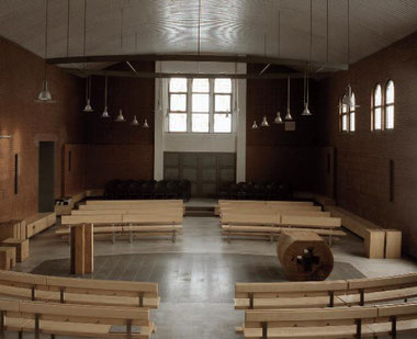 Der Raum für Liturgie hat viele Gesichter. A. Gerhards