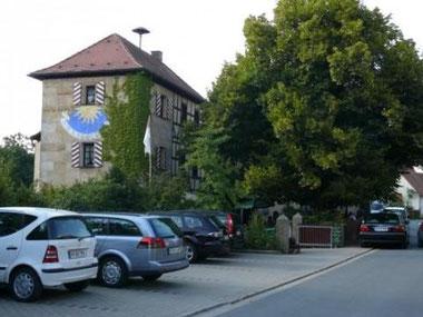 Gasthaus Hallerschlösschen, Nuschelberg