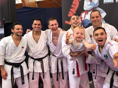 2017 Umag: Davide con i campioni del Mondo! Diaz, Valdesi, Lefevre, Oruna, Benetello e Brose