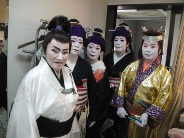 千葉市民会館大ホール百華撰若紫さくら社中の皆様
