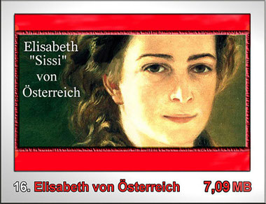 """16 Elisabeth """"Sissi"""" von Österreich"""