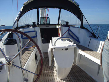 cockpit de voilier