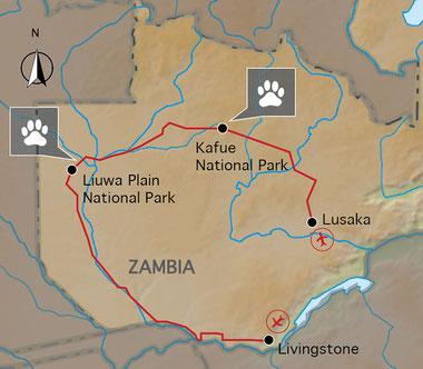Rundreise Sambias Westen erleben, Afrika-Reise