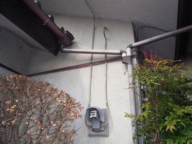 電力量計配線 施工前