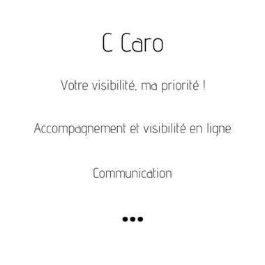 C-Caro.be - Fond blanc ou fond noir pour mon site web ?
