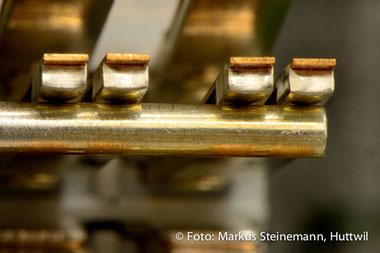 Relaisstellwerk, Kontakt, Bahnmontagen, bild huttwil gmbh, Markus Steinemann