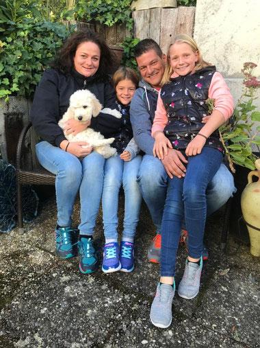 KOLA mit Petra, Marco, Lara und Elin