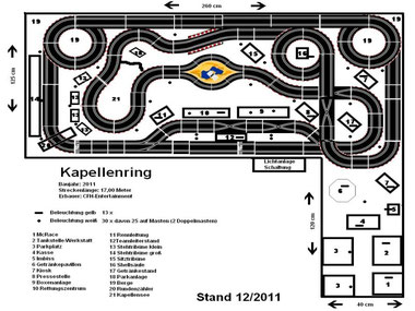 Plan des Kapellenrings