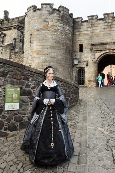 Stirling,castle,dame,lady,Herbst,Oktober,Schottland,tipps
