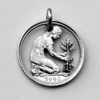 Münzsagewerk Katrin Thull | Deutschland - 50 Pfennig