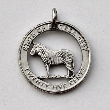 Münzsägewerk Katrin Thull | Eritrea - Zebra